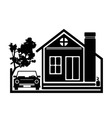 Beauty Home Icon vector image