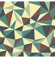 triangle pattern vintage vector image