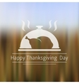 Thanksgiving Day blurred background vector image
