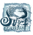 surf pacific spirit vector image vector image