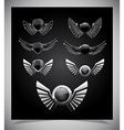Set of emblemes vector image vector image