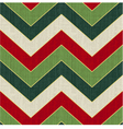 seamless geometric pattern with christmas colors vector image vector image