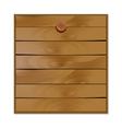 blank wooden board vector image
