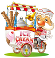 ice-cream vector image vector image