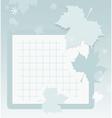Autumn school background vector image