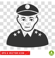 Army General EPS Icon vector image