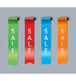 Sale bookmarks vector image