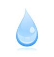water drop2 vector image vector image