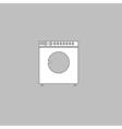 Wash computer symbol vector image