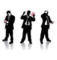 pink slip vector image vector image