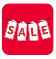 Sale four letter vector image