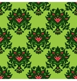 Seamless Damask Pattern Design vector image