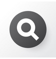 search icon symbol premium quality isolated vector image