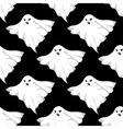 Danger ghosts seamless pattern vector image vector image