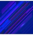 Blue Line Background vector image