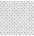 houndstooth pattern gray and white seamless vector image