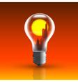 bulb 2 vector image