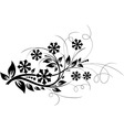 floral elements for design vector vector image vector image