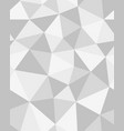 polygonal mosaic abstract geometry vector image