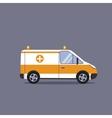 Ambulance car vector image