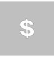 Dollar computer symbol vector image