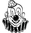 Happy clown vector image vector image