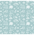Seamless pattern of Sea shells vector image