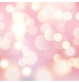 Light bokeh background Glow shiny bright design vector image