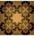 gothic gold leaf vector image
