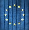 Grunge Flag Of Europa vector image
