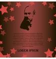 men as symbol of red revolution vector image