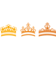 graphic crown vector image