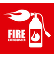 fire icons design vector image