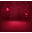 VAlentine Hearts Background 1 vector image