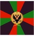 Color flag Siberian Grenadier Regiment vector image vector image
