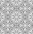 Geometric designs floral simple pattern vector image