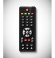 TV remote vector image vector image