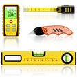 measuring tool vector image vector image