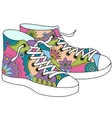 gumshoes colorful vector image