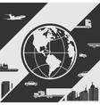 Modern city life vector image vector image