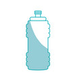 gym thermo bottle vector image