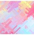 Pastel Color Glitch Background vector image