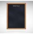 Menu blackboards or chalkboards vector image