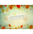 Hello Autumn vector image