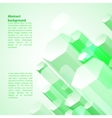 Abstract 3D geometric background vector image vector image
