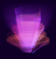 stylish magical effect design virtual vector image