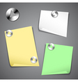 office stationery icons vector image vector image