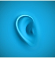Background with ear vector image