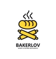 logo of fresh bread vector image