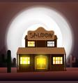 saloon - art vector image